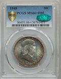 Franklin Half Dollars, 1948 50C MS66+ Full Bell Lines PCGS Gold Shield. CAC. PCGS Population: (515/16). NGC Census: (138/7). CDN: $225 Whsle. Bid ...