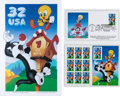 """Animation Art:Poster, """"Neither Snow, Nor Wain, Nor Putty Tats"""" Tweety and SylvesterLimited Edition Print with First Day Cover and Stamp Sheet #2225..."""