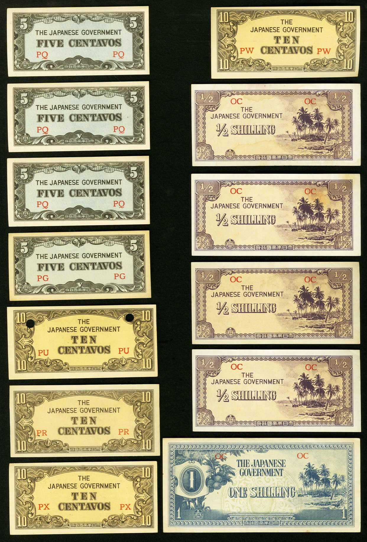 An Allied Military Currency Group Of