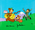 "Animation Art:Limited Edition Cel, ""Escape from Ranger Smith"" Yogi Bear Limited Edition Cel #88/300(Hanna-Barbera, 1989)...."