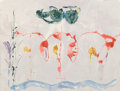 Prints & Multiples:Print, Helen Frankenthaler (1928-2011). Aerie, 2009. Screenprint in colors on wove paper. 29-1/2 x 39 inches (74.9 x 99.1 cm) (...