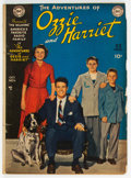 Golden Age (1938-1955):Humor, Ozzie and Harriet #1 (DC, 1949) Condition: GD/VG....