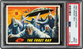 Non-Sport Cards:Singles (Post-1950), 1962 Topps Mars Attacks - The Frost Ray #23 PSA Mint 9 - None Higher. ...
