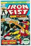 Bronze Age (1970-1979):Superhero, Iron Fist #1 (Marvel, 1975) Condition: VF/NM....