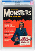Magazines:Horror, Famous Monsters of Filmland #2 (Warren, 1958) CGC NM- 9.2 Off-white to white pages....