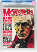 Magazines:Horror, Famous Monsters of Filmland #9 (Warren, 1960) CGC FN/VF 7.0 Off-white to white pages....
