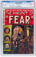 Golden Age (1938-1955):Horror, Haunt of Fear #20 Gaines File Pedigree 10/11 (EC, 1953) CGC NM- 9.2 White pages....