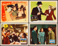 "Movie Posters:Film Noir, Night and the City & Other Lot (20th Century Fox, 1950).Overall: Very Fine-. Lobby Cards (4) (11"" X 14""). Film Noir.. ...(Total: 4 Items)"
