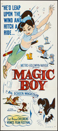 "Movie Posters:Animation, Magic Boy (MGM, 1960). Folded, Very Fine. Australian Daybill (13.25"" X 30""). Animation.. ..."