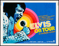"Movie Posters:Elvis Presley, Elvis on Tour (MGM, 1972). Rolled, Fine/Very Fine. Half Sheet (22""X 28""). Elvis Presley.. ..."