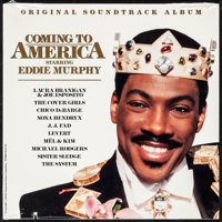"""Coming to America (Paramount, 1988). Very Fine/Near Mint. Vinyl Record (12.25"""" X 12.25""""). Comedy"""