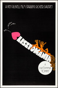 """Lisztomania (Warner Brothers, 1975). Rolled, Very Fine+. One Sheet (27"""" X 41"""") Advance. Musical"""