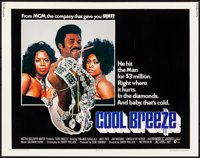 "Cool Breeze (MGM, 1972). Rolled, Very Fine-. Half Sheet (22"" X 28""). Blaxploitation"