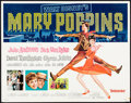 "Mary Poppins & Other Lot (Buena Vista, R-1973). Rolled, Fine+. Half Sheets (2) (22"" X 28""). Paul Wenze..."