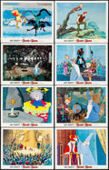 """Movie Posters:Animation, The Sword in the Stone & Other Lot (Buena Vista, 1963). Very Fine. Lobby Cards (16) (11"""" X 14""""). Animation.. ... (Total: 16 Items)"""