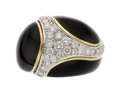 Estate Jewelry:Rings, Diamond, Enamel, Gold Ring, Cellino  The ring ...