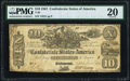 Confederate Notes:1861 Issues, T29 $10 1861 PF-1 Cr. 237 PMG Very Fine 20.. ...