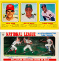 Baseball Cards:Singles (1970-Now), 1970 Transogram Baseball Complete Box with Rose, Mays, & Jones....