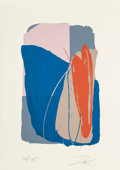 Prints & Multiples:Print, Larry Zox (1936-2006). Untitled 4, c. 1980. Screenprint in colors on paper. 42-1/4 x 29-3/4 inches (107.3 x 75.6 cm) (sh...