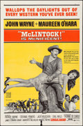 "Movie Posters:Western, McLintock! (United Artists, 1963). Folded, Fine/Very Fine. OneSheet (27"" X 41""). Western.. ..."