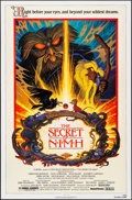 "Movie Posters:Animation, The Secret of NIMH (MGM/UA, 1982). Folded, Very Fine+. One Sheet (27"" X 41"") Tim Hildebrandt Artwork. Animation.. ..."