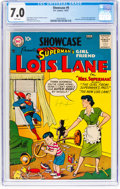 Silver Age (1956-1969):Superhero, Showcase #9 Lois Lane (DC, 1957) CGC FN/VF 7.0 White pages....
