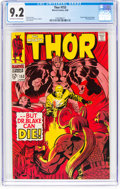 Silver Age (1956-1969):Superhero, Thor #153 (Marvel, 1968) CGC NM- 9.2 Off-white to white pages....