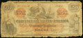 Confederate Notes:1861 Issues, CT19/137A Counterfeit $20 1861 Very Good.. ...