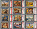 Non-Sport Cards:Lots, 1938 R69 Horrors of War High Numbers PSA NM & NM-MT Collection (12 Different). ...