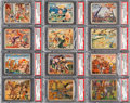 Non-Sport Cards:Lots, 1938 R69 Horrors of War PSA-Graded Collection (35 Different). ...