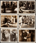 """Movie Posters:Horror, Dracula's Daughter (Realart, R-1949). Fine+. Photos (11) (Approx.8"""" X 10""""). Horror.. ... (Total: 11 Items)"""