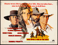 "Once Upon a Time in the West (Paramount, 1969). Rolled, Fine. Half Sheet (22"" X 28""). Frank McCarthy Artwork..."