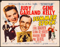 "Movie Posters:Musical, Summer Stock (MGM, 1950). Folded, Fine/Very Fine. Half Sheet (22"" X28"") Style B. Musical.. ..."