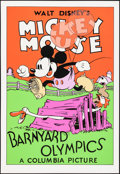 """Movie Posters:Animation, Barnyard Olympics (Circle Fine Art, R-1980s). Rolled, Very Fine/Near Mint. Fine Art Serigraphs (5) Identical (21"""" X 30.75"""").... (Total: 5 Items)"""