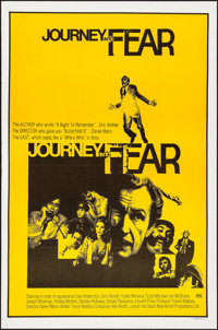 """Journey into Fear (Stirling Gold, 1975). Flat Folded, Very Fine. One Sheets (15) Identical (27"""" X 41""""). Thrill..."""