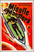 "Movie Posters:Science Fiction, Missile Monsters (Republic, 1958). Flat Folded, Very Fine. OneSheets (2) Identical (27"" X 41""). Science Fiction.. ... (Total: 2Items)"