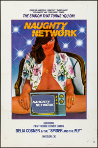 Naughty Network & Other Lots (Gail Film, 1981). Folded & Flat Folded, Overall: Fine/Very Fine. One Sheet...