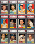 Baseball Cards:Lots, 1961 Topps Baseball PSA Mint 9 Collection #'s 100-199 (81)....