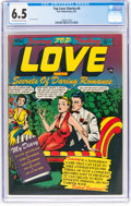 Golden Age (1938-1955):Romance, Top Love Stories #4 (Star Publications, 1951) CGC FN+ 6.5 Off-whiteto white pages....