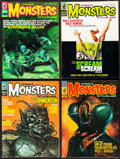 "Movie Posters:Horror, Famous Monsters of Filmland (Warren Publishing, 1968-1974).Fine/Very Fine. Magazines (8) (Multiple Pages, 8.5"" X 11.5""). Ho...(Total: 8 Items)"