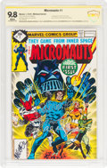 Bronze Age (1970-1979):Superhero, Micronauts #1 Whitman Variant - Witnessed Signatures (Marvel, 1979)CBCS NM/MT 9.8 White pages....