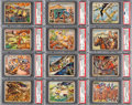 Non-Sport Cards:Lots, 1938 R69 Horrors of War PSA NM-MT Collection (20 Different). ...