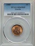 Lincoln Cents, 1909 1C MS65 Red PCGS. PCGS Population: (1152/630). NGC Census: (405/192). CDN: $80 Whsle. Bid for problem-free NGC/PCGS MS...