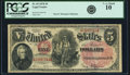 Large Size:Legal Tender Notes, Fr. 69 $5 1878 Legal Tender PCGS Very Good 10.. ...
