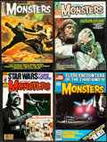 """Movie Posters:Horror, Famous Monsters of Filmland (Warren Publications, 1966-1981).Fine/Very Fine. Magazines (8) (Multiple Pages, 8.5"""" X 11.5""""). ...(Total: 8 Items)"""