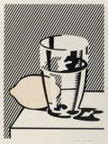 Fine Art - Work on Paper:Print, Roy Lichtenstein (1923-1997). Untitled (Still Life with Lemonand Glass), from For Meyer Schapiro, 1974. Lithograph...