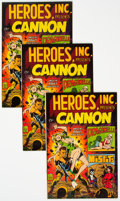 Silver Age (1956-1969):Superhero, Heroes, Inc. Presents Cannon #nn Group of 100 (Wally Wood, 1969) Condition: Average NM-.... (Total: 100 )