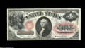 Fr. 20 $1 1875 Legal Tender Gem New. A pretty note that has not seen the light of the marketplace since the Eisenhower A...