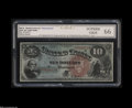 Large Size:Legal Tender Notes, Fr. 96 $10 1869 Legal Tender CGC Superb Gem 66....