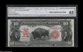 Large Size:Legal Tender Notes, Fr. 119 $10 1901 Legal Tender CGA Gem Uncirculated 65....